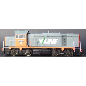 POWERLINE T393 (Low Nose) V/Line T Class Series 3 (T4) locomotive (PT3-2-393)