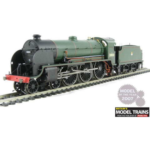 "HORNBY  N15 Class 30800 ""Sir Meleaus De Lille"" In BR Green Early Emblem Livery - Hearns Hobbies Melbourne - HORNBY"