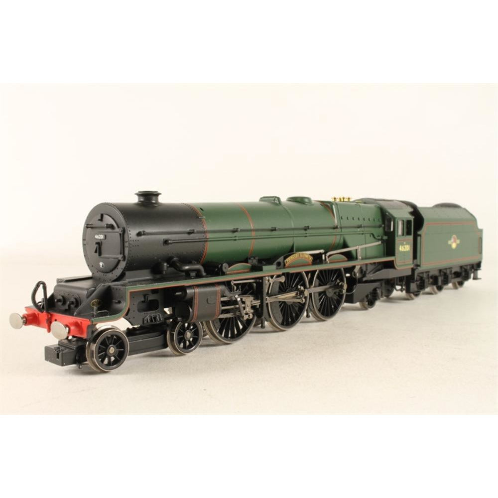 "HORNBY Princess class 4-6-2 46201 ""Princess Elizabeth"" in BR green with late crest -Pete Waterman Collection - Hearns Hobbies Melbourne - HORNBY"