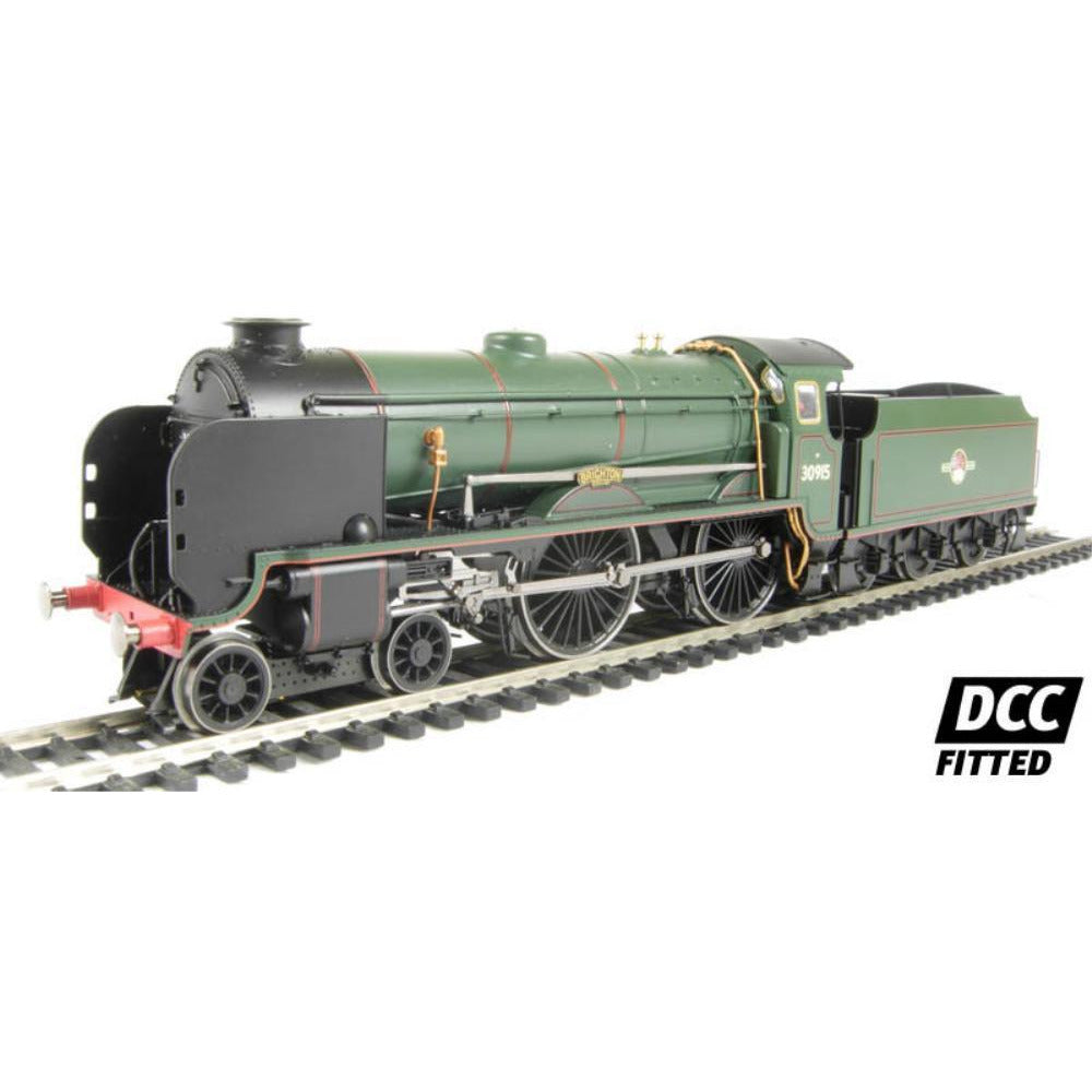 "HORNBY Class V Schools 4-4-0 30934 ""St. Lawrence"" & tender in BR black with early emblem - Hearns Hobbies Melbourne - HORNBY"