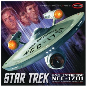POLOR LIGHTS STAR TREK TOS ENTERPRISE STANDARD EDITION 1/35