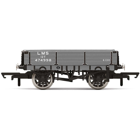 Image of HORNBY 3 Plank Wagon, LMS - Era 3