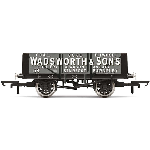 HORNBY 5 Plank Wagon, Wadsworth & Sons - Era 2