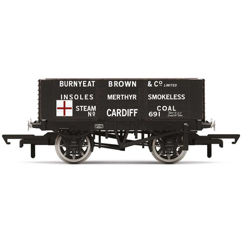 HORNBY 6 Plank Wagon, Burnyeat Brown & Co. - Era 2
