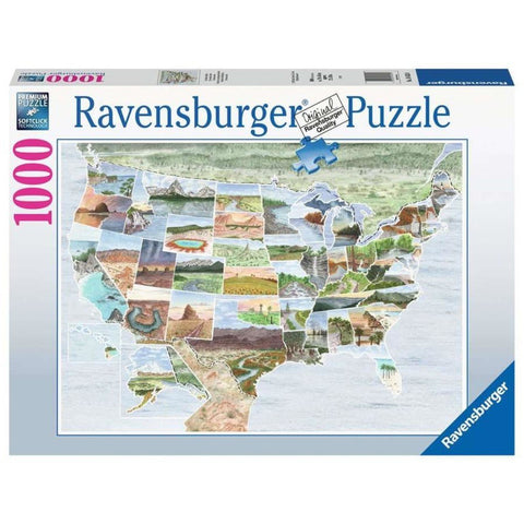Ravensburger From Sea To Shining Sea 1000pc