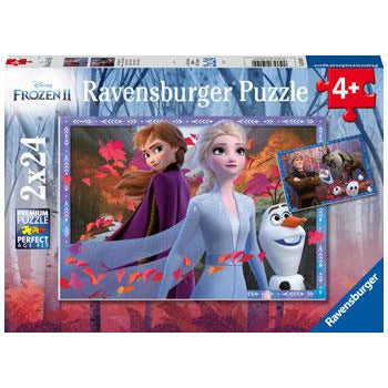 Ravensburger Frozen 2 Frosty Adventures 2x24pc