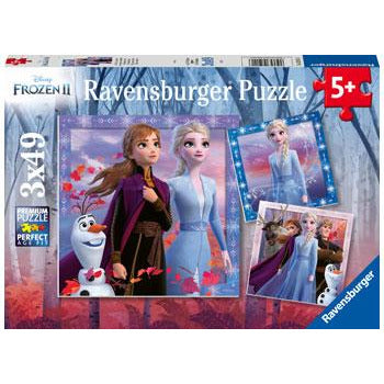 Ravensburger Frozen 2 The Journey Starts 3x49pc