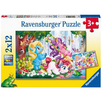 Ravensburger Unicorns at Play 2x12pc