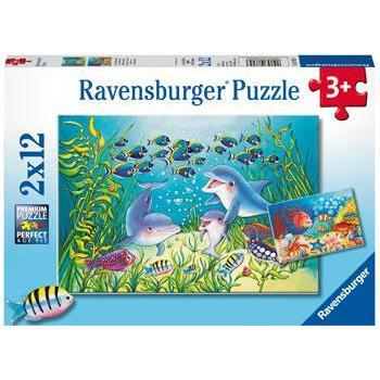 Image of Rburg - On the Seabed Puzzle 2x12pc