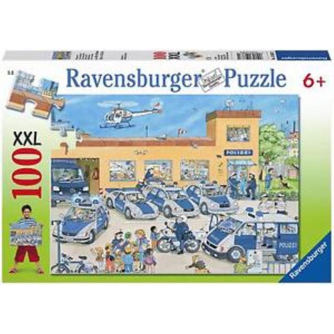 Ravensburger Police District Puzzle 100pc (RB10867-1)