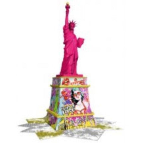 Ravensburger  Statue of Liberty 3D Puzzle Pop Art