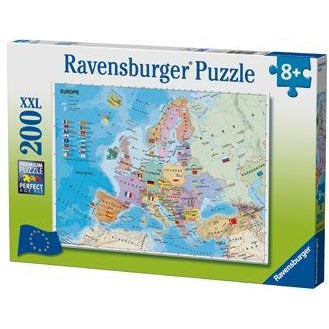 Ravensburger European Map Puzzle 200pc (RB12841-9)