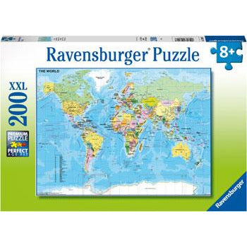 Rburg - Map of the World 200pc