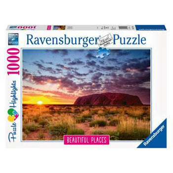 Ravensburger - Ayers Rock, Australia Puzzle 1000pc (RB15155
