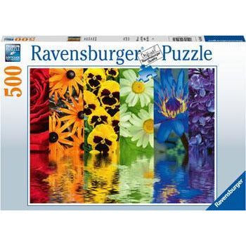 RAVENSBURGER Floral Reflections 500 pieces