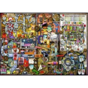 Ravensburger The Inventor's Cupboard Puzzle 1000pc (RB19597-8)