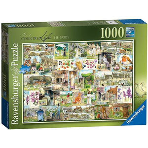 Ravensburger - Country Life 1900s Puzzle 1000pc