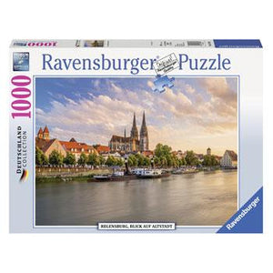 Ravensburger Old Town Regensburg Puzzle 1000pc (RB19781-1)