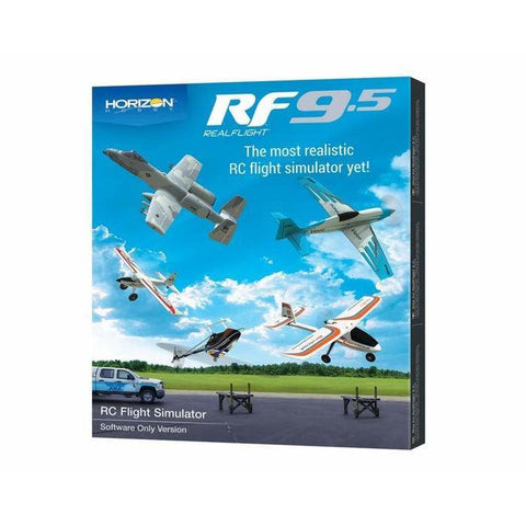 REAL FLIGHT 9.5 Flight Simulator (Software Only)