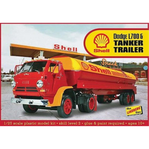 AMT 1:25 Dodge L700 w/Shell Tanker Plastic Kit RHLIN118