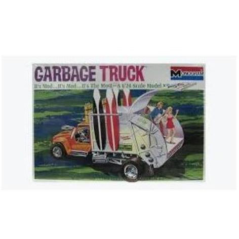 MONOGRAM 1:25 Garbage Truck Show Car Plastic Kit RMON6739