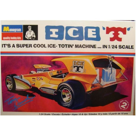 "MONOGRAM 1:25 Tom Daniel ""Ice T"" Show Car Plastic Kit RMON6"