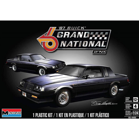 REVELL 1/24 Buick Grand National 2N1 Plastic Model Kit