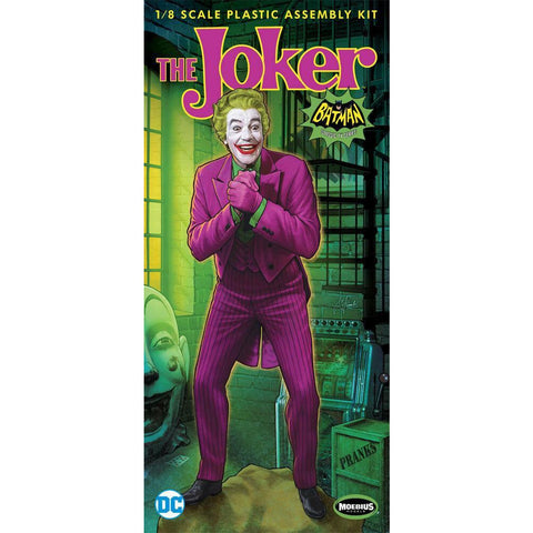 MOEBIUS 1/8 Batman 1966 The Joker Plastic Model Kit