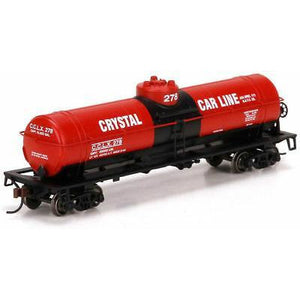 ATHEARN HO 76678 Single Dome Tank Car, Crystal Car Line