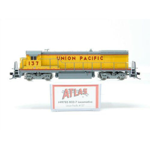 ATLAS N GE B23-7 Union Pacific (UP) #137 DCC Ready