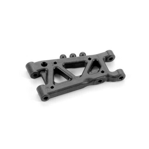 XRAY Rear Suspension Arm - Graphite - 1 Hole