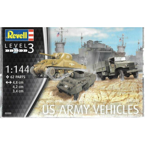 REVELL 1/144 US Army Vehicles (WWII)
