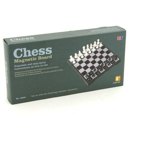Magnetic Chess Set 10""