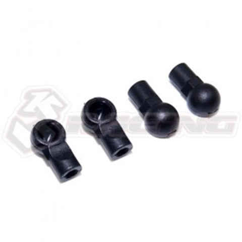 3RACING Damper Ball end For KIT-MINI MG #SAK-MG18 (SAK-MG18