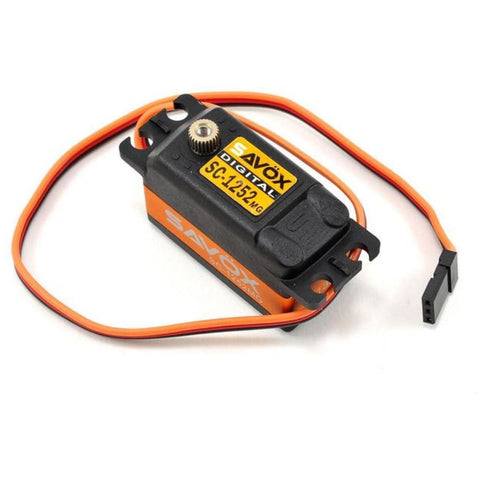 SAVOX Low Profile Super Speed Metal Gear Servo 1252MG