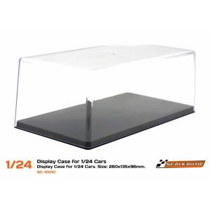URNA SC-1001C Display Case for 1/24 Cars.  260x135x96mm