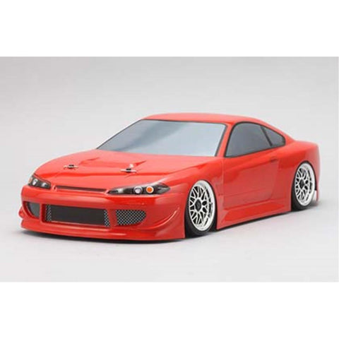 YOKOMO Body Set for HKS HIPER SILVIA S15(Graphic decal less) (SD-HKSB)