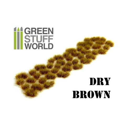 GREEN STUFF WORLD Grass Tufts 6mm Self-Adhesive - Dry Brown
