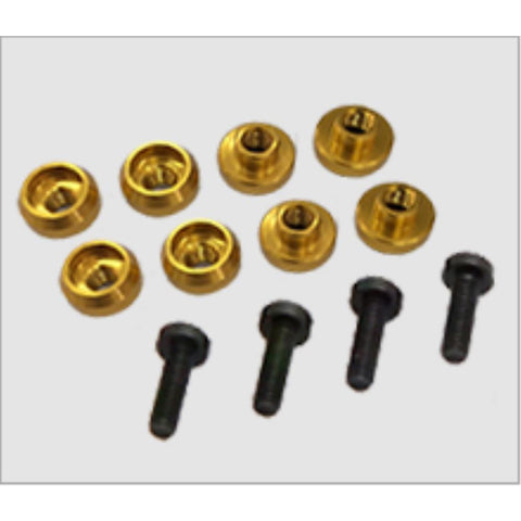 HIGHEST SERVO GROMMET 4.5mm (8pieces)  - Gold