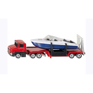 Siku - Low Loader With Boat (SI1613)
