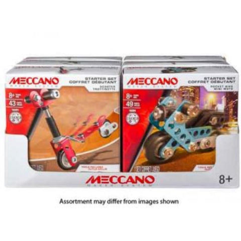 Meccano Multi-Model Starter Set Assorted