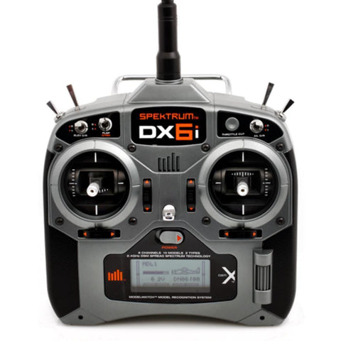 Spektrum DX6i transmitter w/- AR610 receiver - Hearns Hobbies Melbourne - SPEKTRUM - 1