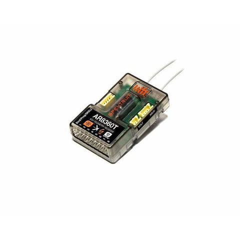 SPEKTRUM AR8360T 8ch Air Receiver with SAFE Technology and Telemetry