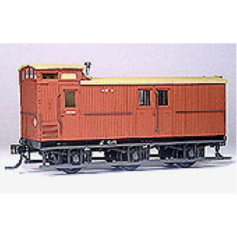 STEAM ERA MODELS HO - Z Six Wheel Guard's Van - Requires As