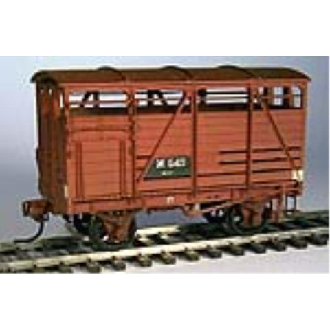 STEAM ERA MODELS HO - R7 M CATTLE WAGON