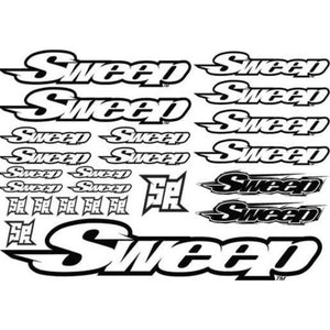 SWEEP SR Logo Decal 2017 Version 1pc (SWP-D3)