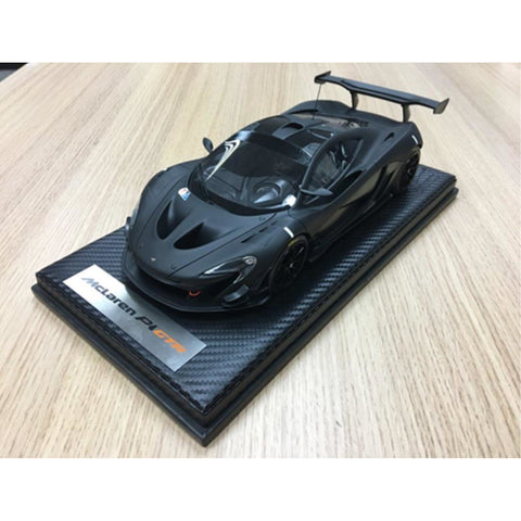 TECNOMODEL 1:18 Mclaren P1 GTR Carbon Black test Car