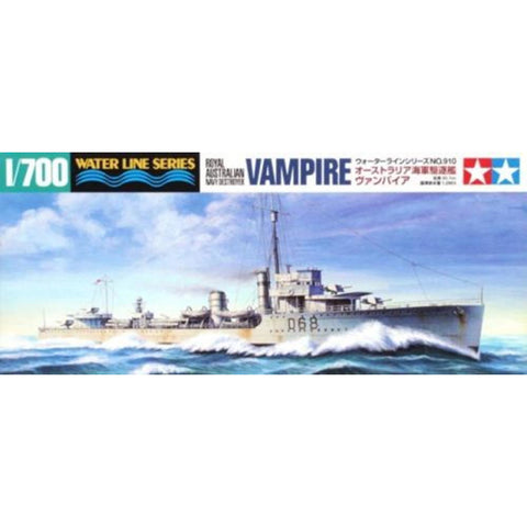 TAMIYA DESTROYER VAMPIRE