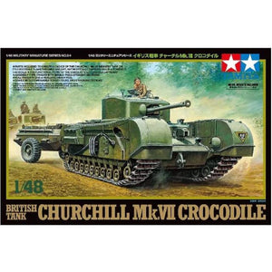 Tamiya 1/48 Churchill Mk.VII Crocodile Tank (T32594)