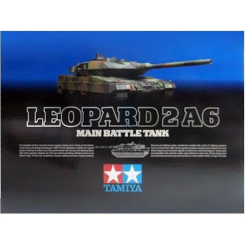 TAMIYA LEOPARD 2 A6 W/-OPTIONS